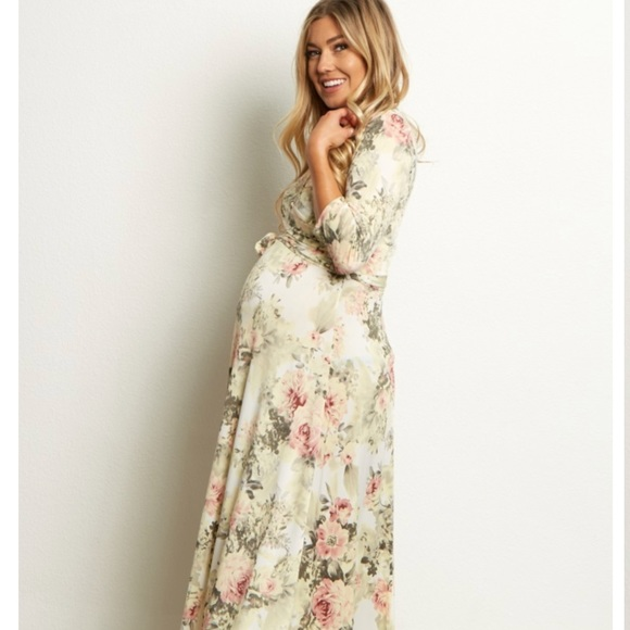 Pinkblush Dresses & Skirts - Pinkblush Maternity Maxi Dress